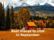 सितंबर में घूमने लायक भारत के सबसे खास पर्यटन स्थल