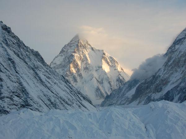 K2 Mountain in Asia