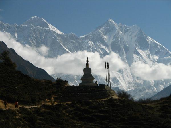 Lhotse Mountain in Asia