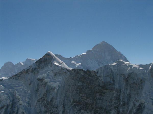 Makalu Mountain in Asia