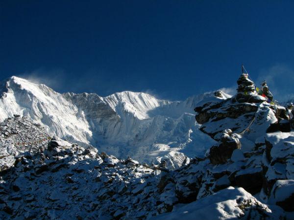 Cho Oyu Mountain in Asia
