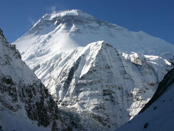 Dhaulagiri Mountain in Nepal