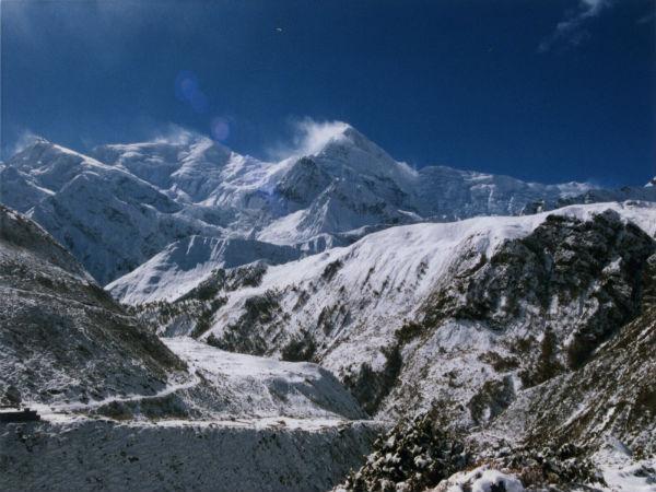 Annapurna Massif in Nepal