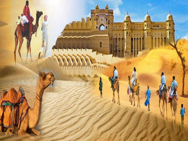 ऐतिहासिक इमारतों से सजा राजस्थान