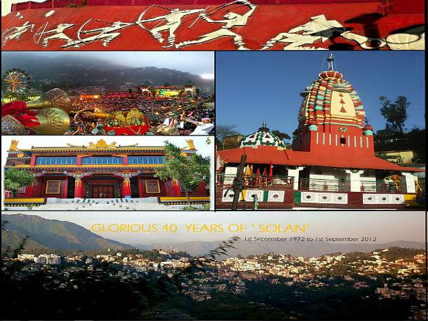 सैर कीजिये हिमाचल प्रदेश के खूबसूरत नगर सोलन की