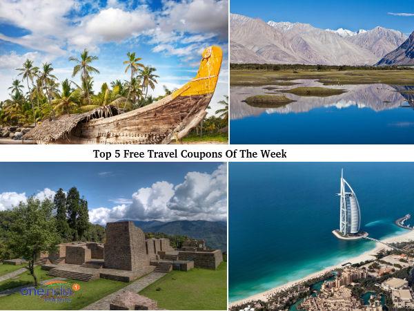 सप्ताह का सबसे अच्छा मुफ्त यात्रा कूपन