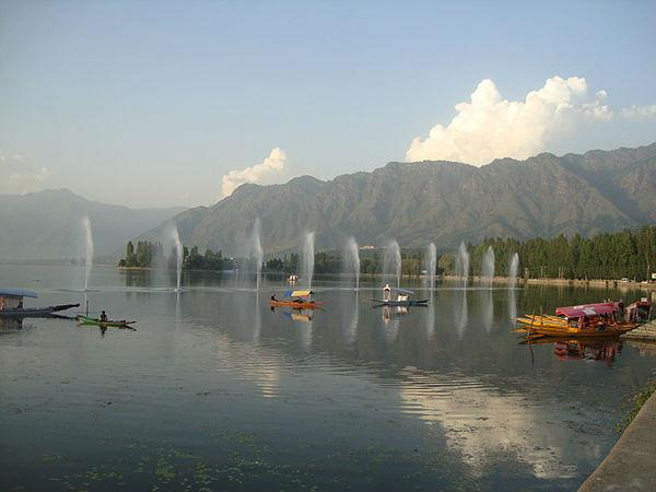 श्रीनगर में देखने के लिए स्थान