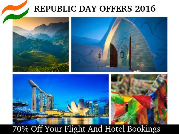 Makemytip!  REPUBLIC DAY आँफर 2016