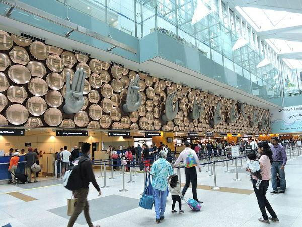 Indira Gandhi International Airport ,New Delhi