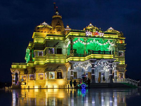 <strong></strong>दिव्य प्रेम को समर्पित वृन्दावन का प्रेम मंदिर!