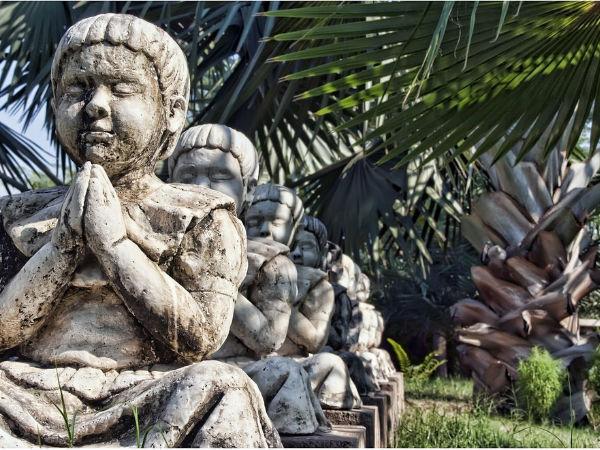 दिल्ली का पंच इंद्रीय उद्यान!