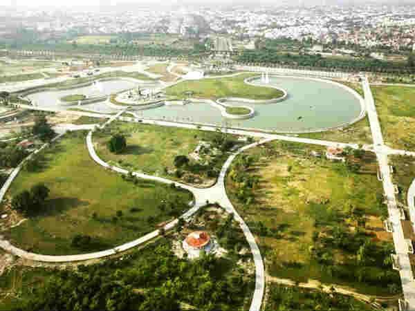 लखनऊ में है एशिया का सबसे बड़ा पार्क..क्या अपने देखा?