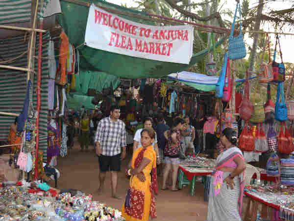 गोवा के शॉपिंग मार्केट