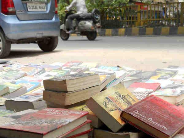 सस्ती और अच्छी किताबों का बाजार-दरियागंज रविवार बुक मार्केट