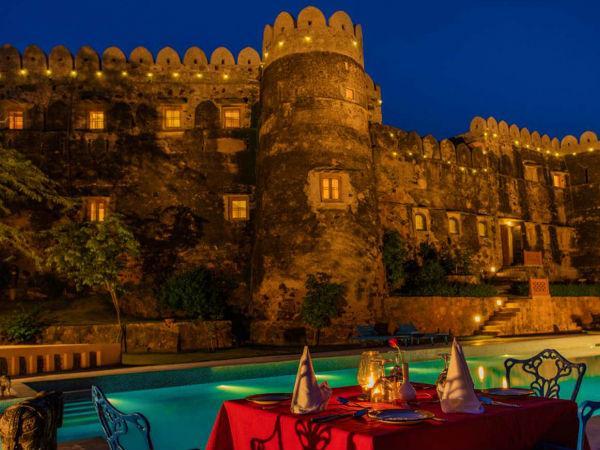 राजसी ठाठ का एहसास करता केसरोली किला