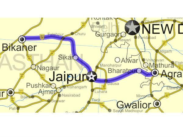 615 किमी लंबे नेशनल हाइवे 11 पर लें रोड ट्रिप का मजा