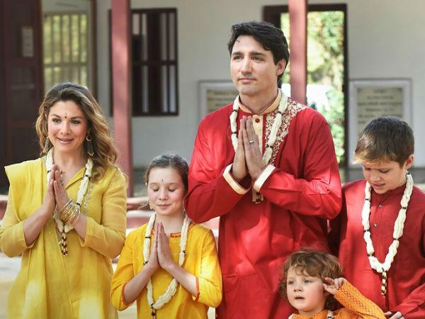 तस्वीरों में देखें! कनाडा प्रधानमंत्री जस्टिन ट्रूडो की गुजरात यात्रा