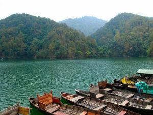 Bhimtal And Sattal Lakes In Nainital