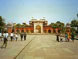 Akbar Tomb In Sikandra Hindi