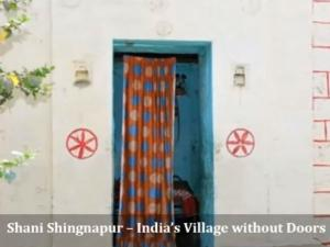 Shani Shingnapur Village In Maharshtra Hindi