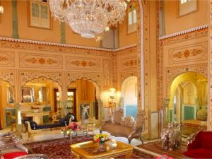 New Ballroom At Raj Palace Hotel In Jaipur Hindi