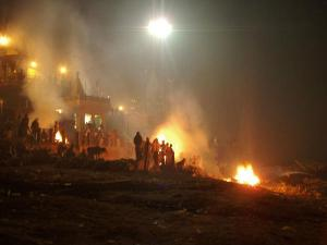 The Burning Ghats Varanasi India