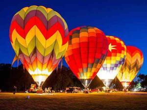 Best Destinations India A Hot Air Balloon Ride