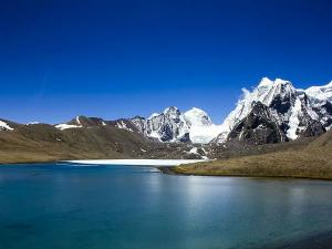 Gurudongmar Lake Witness One The Highest Lakes The World