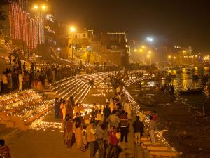 Dev Deepawali 2017 Celebration Varanasi Hindi