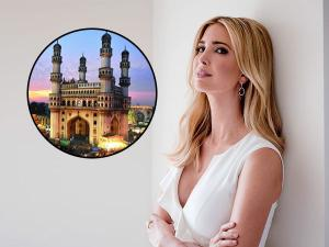 Ivanka Trump Explore Charminar During Hyderabad Visit Hindi