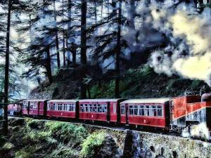 Journey Through The Historical Time Toy Train Hindi