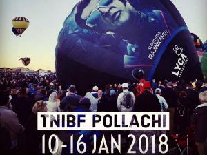 International Hot Air Balloon Festival Pollachi Tamilnadu Hindi