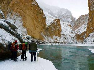 Frozen River Chadar Trek Zanskar Ladakh India