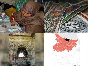Madhubani Painting Bihar India Historical