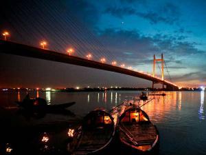 Famous River Ghats Kolkata Hindi