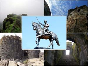 Forts In Maharashtra Related To Chatrapati Shivaji Hindi