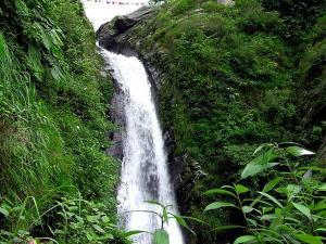 Bhagsu Waterfall Temple Travel Guide Hindi