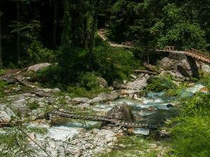 Grahan Village 10 Km Away From Kasol Himachal Pradesh Hindi