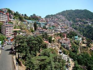 Amazing Destination For Traveller Jakhoo Hills In Shimla Himachal Pradesh