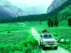 Beautiful Lolab Valley In Jammu And Kashmir