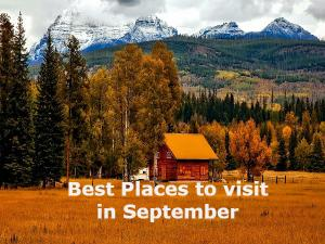 Best Places To Visit In India During September