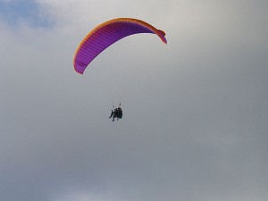 Paragliding Destinations India