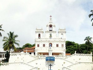 Attractive Beautiful Church Goa