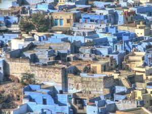 Rajasthan The Cities Blue Pink Gold Hindi