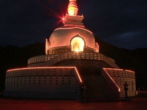 Shanti Stupa The Symbol Of Peace And Prosperity Hindi