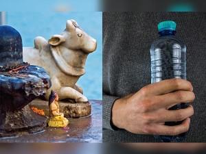 Aaro Water On Shivling Mahakaleshwar Ujjain Hindi